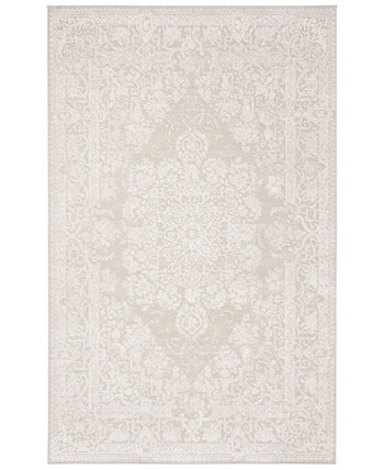 Reflection Creme and Ivory 4' x 6' Area Rug Safavieh