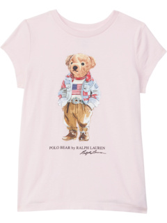Футболка Polo Bear из хлопкового джерси (Little Kids) Ralph Lauren