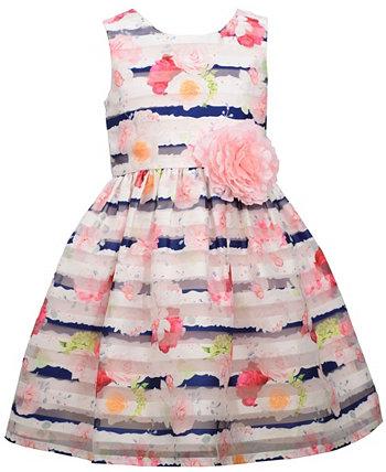Вечернее платье из органзы без рукавов для маленьких девочек Bonnie Jean