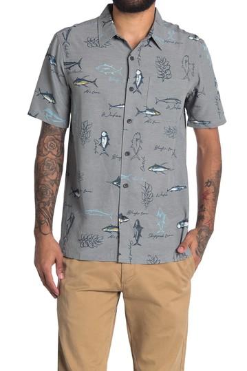 Рубашка классического кроя с принтом рыбок Island Runners Jack O'Neill