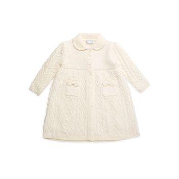 Свитер для маленьких девочек из шерсти мериноса Ralph Lauren