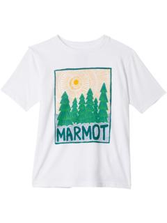 Футболка с короткими рукавами Purview (для маленьких и больших детей) Marmot Kids