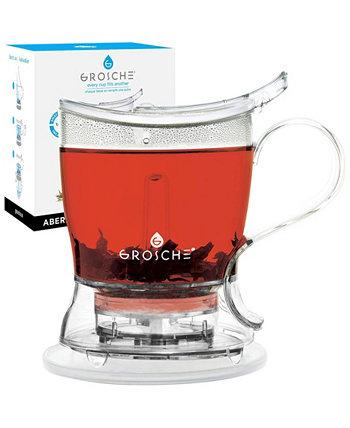 Aberdeen Smart Tea Maker and Tea Steeper, чайник с нижней дозировкой, 34 жидких унции Grosche