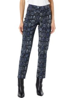 Узкие брюки до щиколотки из лайкры с принтом Nahealy Lisette L Montreal
