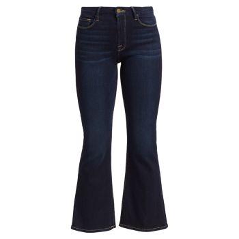 Укороченные джинсы Bootcut со средней посадкой FRAME