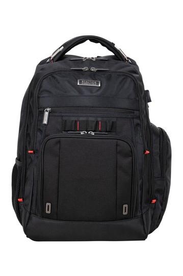 Деловой рюкзак для ноутбука с двумя отсеками RFID и USB Kenneth Cole