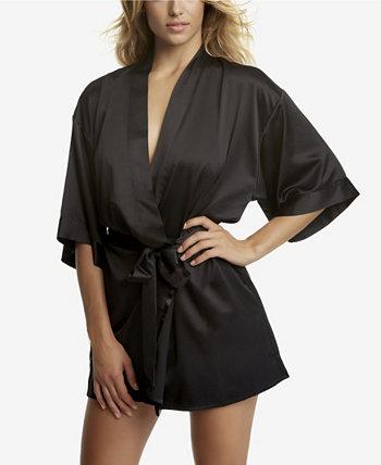 Атласный халат Muse с запахом, только в Интернете Jezebel