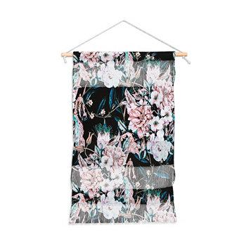 """Настенный портрет Марты Барраган Камараса в темном диком розовом цветке, 11 """"x16"""" Deny Designs"""