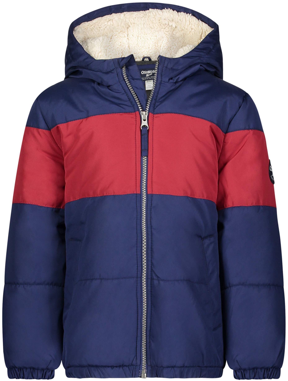 Тяжелая зимняя куртка с подкладкой из шерпы OshKosh B'gosh