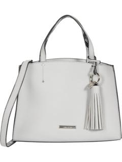 Связанная сумка-портфель из полиуретана Anne Klein