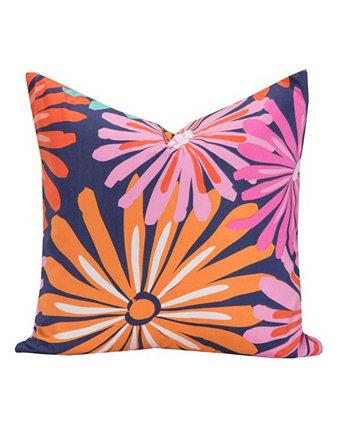 Дизайнерская декоративная подушка Dreaming of Daisies 20 дюймов Crayola