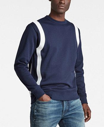 Мужской спортивный свитер со вставками G-Star