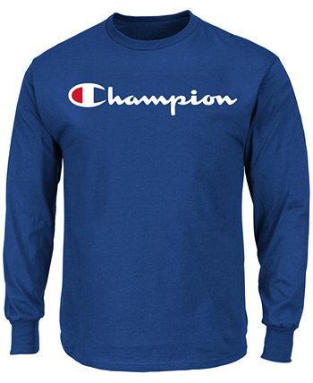Мужская футболка с длинным рукавом от Script Champion