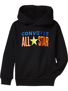 Пуловер с капюшоном All Star Sherpa (Маленькие дети) Converse Kids