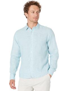 Рубашка Franconia из устойчивого к морщинам льна UNTUCKit