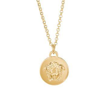 Ожерелье с подвеской Medusa Versace