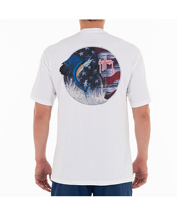 Мужская футболка с короткими рукавами и круглым вырезом Stars And Sail Guy Harvey
