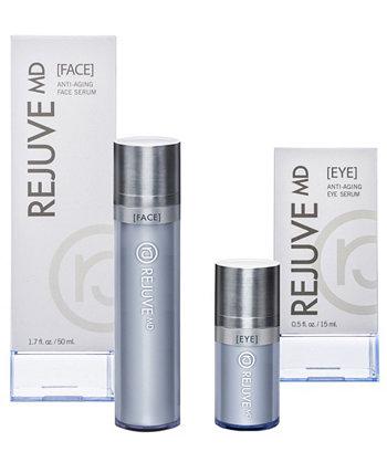 Полный набор сывороток для лица и глаз Rejuve MD