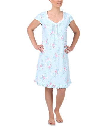Ночная рубашка с цветочным принтом Miss Elaine