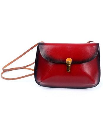 Кожаная сумка через плечо Ada Old Trend