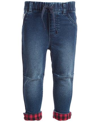 Фланелевые джинсы для мальчиков с манжетами, созданные для Macy's First Impressions