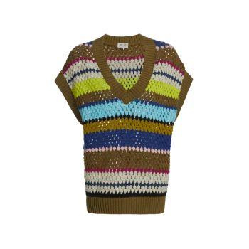 Жилет-свитер Coletta из смесовой шерсти прибрежных сообществ BAUM UND PFERDGARTEN