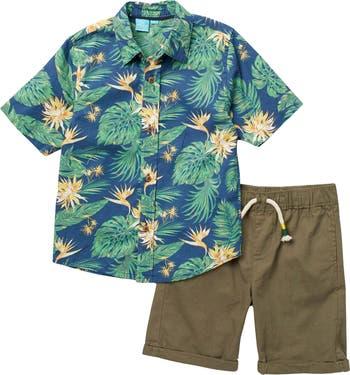Тканая рубашка и шорты BEAR CAMP