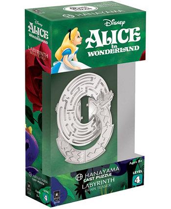Ханаяма Головоломка четвертого уровня - Дисней Алиса в стране чудес - Лабиринт Areyougame