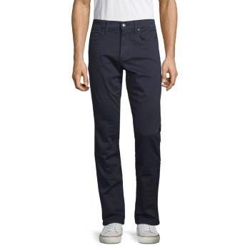 Джинсы приталенного кроя френч терри Joe's Jeans