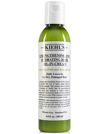 Укрепляющее и увлажняющее масло для волос, 6 унций. Kiehl's Since 1851