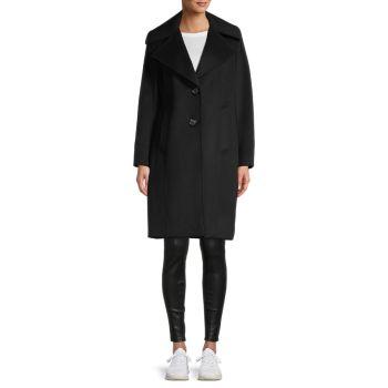 Пальто из смесовой шерсти Sam Edelman