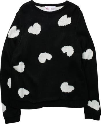 Пуловер с сердечками Cotton Emporium