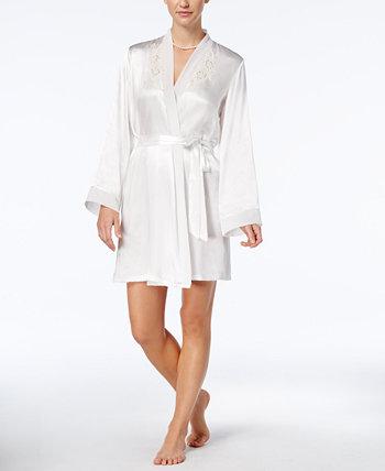 Полуночный короткий халат с запахом Linea Donatella
