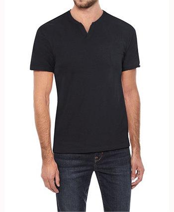 Мужская футболка с коротким рукавом и вырезом Basic Notch X-Ray