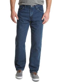 Классические хлопковые джинсы свободного кроя с 5 карманами Wrangler
