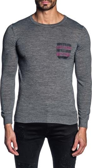 Свитер-пуловер с круглым вырезом Jared Lang