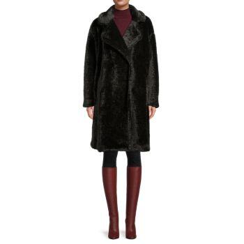 Тедди пальто Missy из искусственного меха MICHAEL Michael Kors