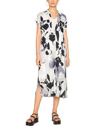 Платье-рубашка с легким принтом B new york