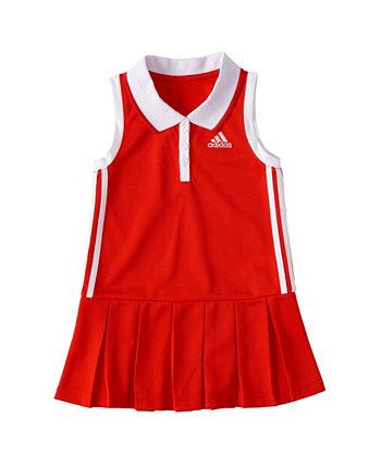 Little Girls Sleeveless Polo Dress Adidas