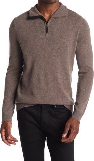Кашемировый пуловер с молнией до четверти Autumn Cashmere