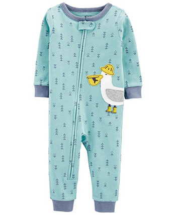 Toddler Boys Snug Fit Cotton Footed Pajama Carters