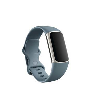 Charge 5, Steel Blue/Platinum, Stainless Steel Fitbit