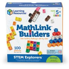 Learning Resources STEM Explorers MathLink Builders Learning Resources