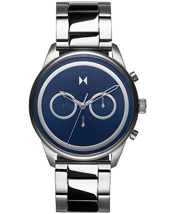 Мужские часы с хронографом Powerlane из нержавеющей стали с браслетом 43 мм MVMT