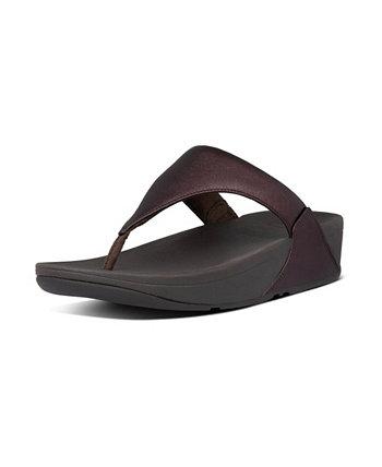 Женская кожаная сандалия Lulu Toe-Thongs FitFlop