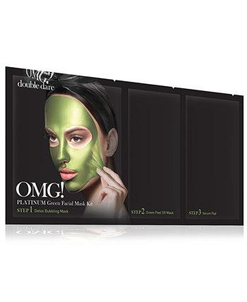 О, МОЙ БОГ! Платиновая зеленая маска для лица Double Dare