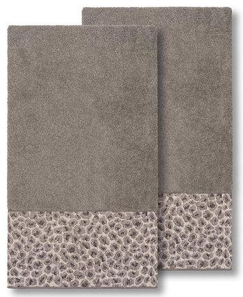 Набор банных полотенец Spots из 2 предметов Linum Home
