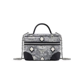 Vintage Jacquard Crossbody Bag MCM