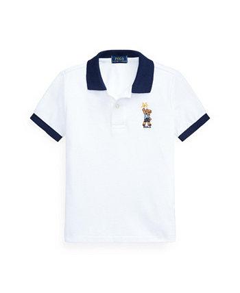 Toddler Boys Sparkler Bear Polo Shirt Ralph Lauren