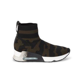Кроссовки Lulu Camouflage Sock ASH